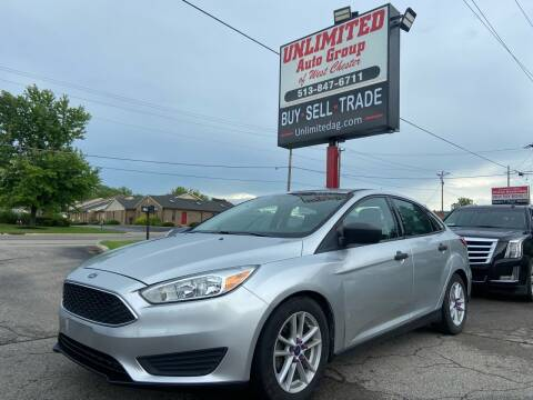 2016 Ford Focus for sale at Unlimited Auto Group in West Chester OH