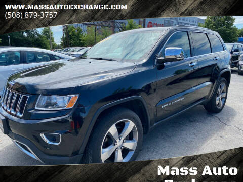 2014 Jeep Grand Cherokee for sale at Mass Auto Exchange in Framingham MA