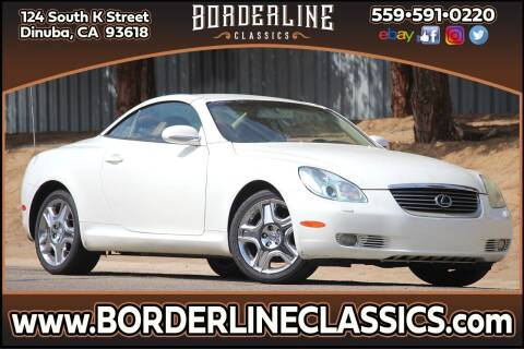 2005 Lexus SC 430 for sale at Borderline Classics in Dinuba CA