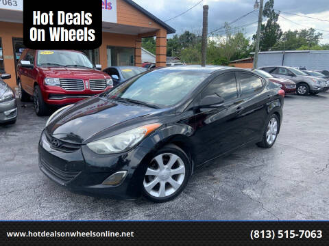 2013 Hyundai Elantra for sale at Hot Deals On Wheels in Tampa FL