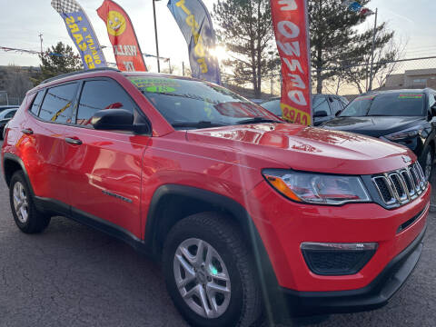 2018 Jeep Compass for sale at Duke City Auto LLC in Gallup NM
