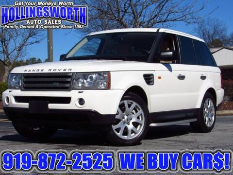 2008 Land Rover Range Rover Sport for sale at Hollingsworth Auto Sales in Raleigh NC
