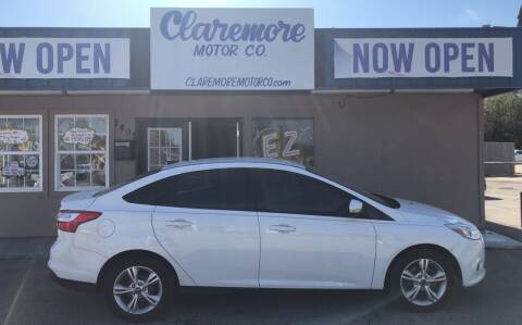 2013 Ford Focus for sale at Claremore Motor Company in Claremore OK