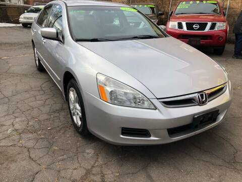 2007 Honda Accord for sale at James Motor Cars in Hartford CT