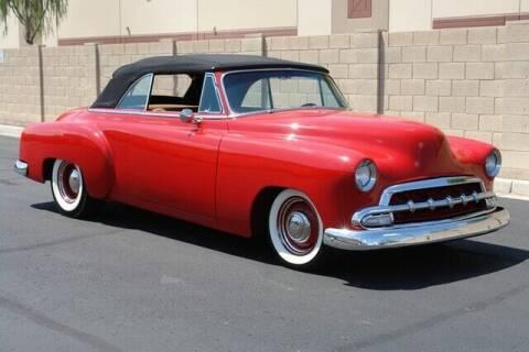 1952 Chevrolet Deluxe for sale at Arizona Classic Car Sales in Phoenix AZ