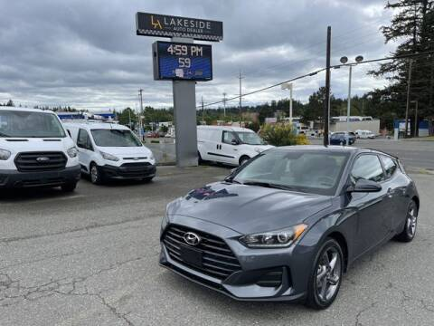 2019 Hyundai Veloster for sale at Lakeside Auto in Lynnwood WA