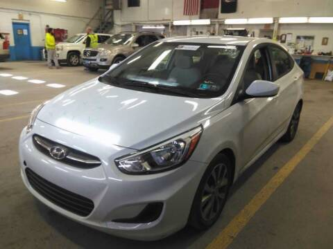 2017 Hyundai Accent for sale at Cj king of car loans/JJ's Best Auto Sales in Troy MI