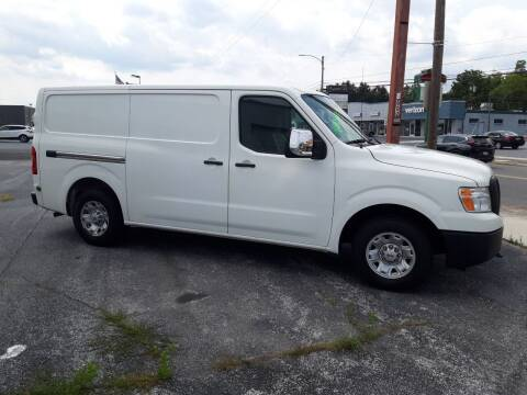 2016 Nissan NV Cargo for sale at Automotive Fleet Sales in Lemoyne PA