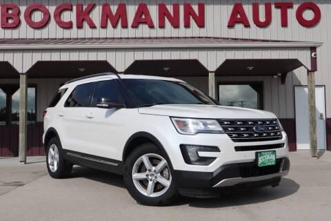 2016 Ford Explorer for sale at Bockmann Auto Sales in Saint Paul NE