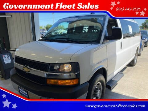 2019 Chevrolet Express Passenger for sale at Government Fleet Sales in Kansas City MO
