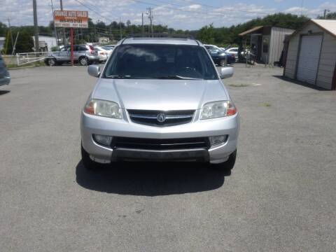 2003 Acura MDX for sale at Knoxville Used Cars in Knoxville TN