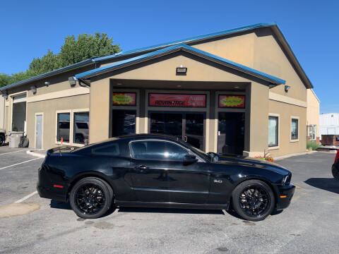 2013 Ford Mustang for sale at Advantage Auto Sales in Garden City ID