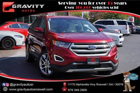 2018 Ford Edge for sale at Gravity Autos Roswell in Roswell GA