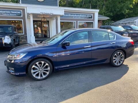 2015 Honda Accord for sale at Ocean State Auto Sales in Johnston RI