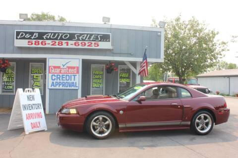 2004 Ford Mustang for sale at D & B Auto Sales LLC in Washington MI