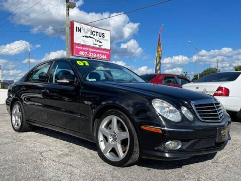 2007 Mercedes-Benz E-Class for sale at Invictus Automotive in Longwood FL