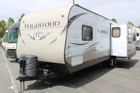 2013 Forest River Wildwood 27RLSS for sale at Rancho Santa Margarita RV in Rancho Santa Margarita CA
