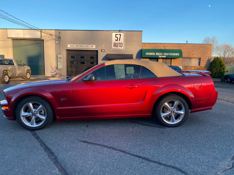 2007 Ford Mustang for sale at 57 AUTO in Feeding Hills MA