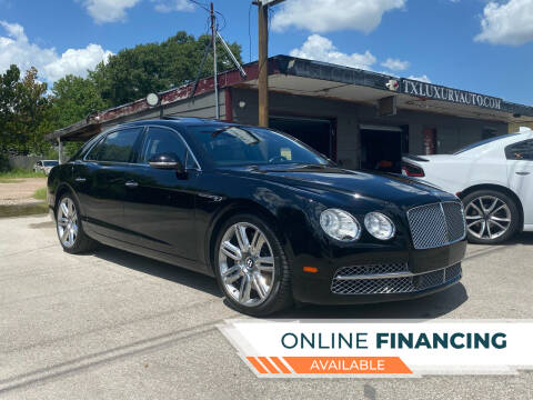 2016 Bentley Flying Spur for sale at Texas Luxury Auto in Houston TX