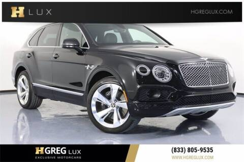2018 Bentley Bentayga for sale at HGREG LUX EXCLUSIVE MOTORCARS in Pompano Beach FL