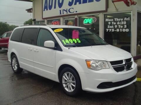 2016 Dodge Grand Caravan for sale at G & L Auto Sales Inc in Roseville MI
