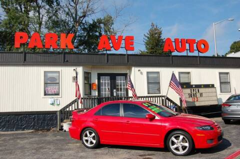 2008 Mazda MAZDA6 for sale at Park Ave Auto Inc. in Worcester MA