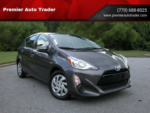 2015 Toyota Prius c for sale at Premier Auto Trader in Alpharetta GA