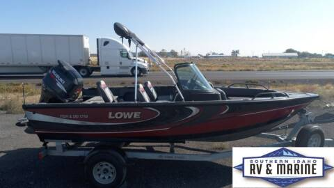 2017 LOWE FISH AND SKI 1710 for sale at SOUTHERN IDAHO RV AND MARINE in Jerome ID