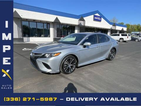 2018 Toyota Camry for sale at Impex Auto Sales in Greensboro NC