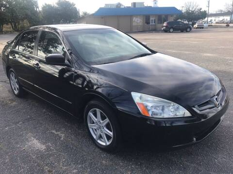 2004 Honda Accord for sale at Cherry Motors in Greenville SC
