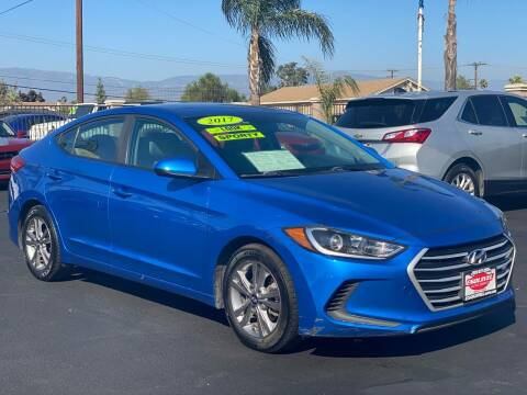 2017 Hyundai Elantra for sale at Esquivel Auto Depot in Rialto CA
