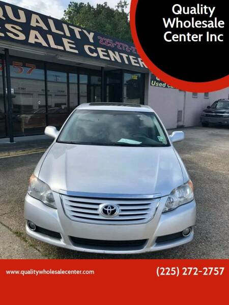 2008 Toyota Avalon for sale at Quality Wholesale Center Inc in Baton Rouge LA