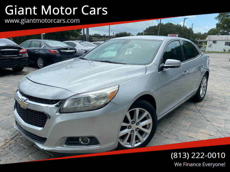 2014 Chevrolet Malibu for sale at Giant Motor Cars in Tampa FL