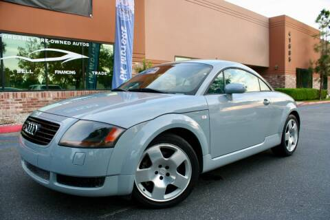 2001 Audi TT for sale at CK Motors in Murrieta CA