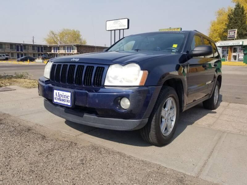 2006 Jeep Grand Cherokee for sale at Alpine Motors LLC in Laramie WY