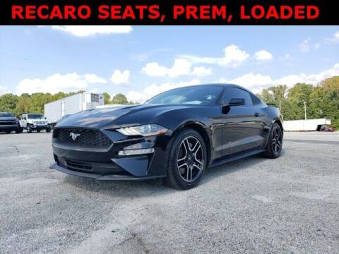 2018 Ford Mustang for sale at Hardy Auto Resales in Dallas GA