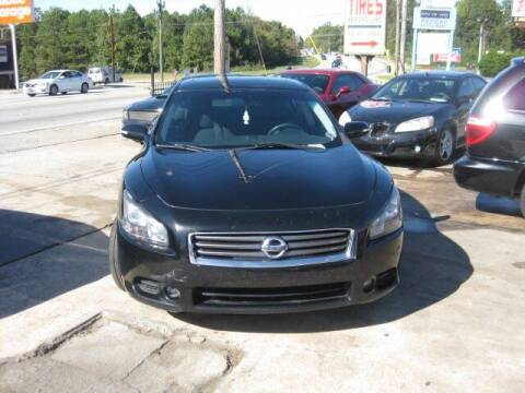 2014 Nissan Maxima for sale at LAKE CITY AUTO SALES in Forest Park GA