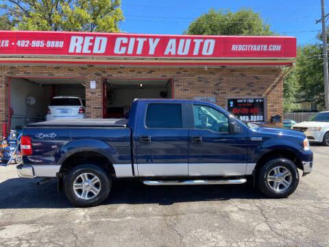 2005 Ford F-150 for sale at Red City  Auto in Omaha NE