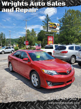 2013 Toyota Camry for sale at Wrights Auto Sales and Repair in Dolgeville NY