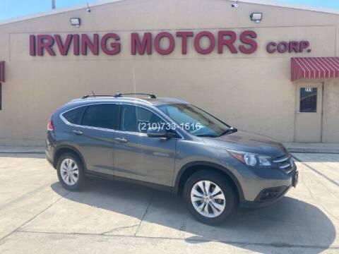2012 Honda CR-V for sale at Irving Motors Corp in San Antonio TX