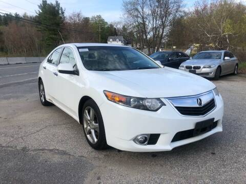 2012 Acura TSX for sale at Royal Crest Motors in Haverhill MA