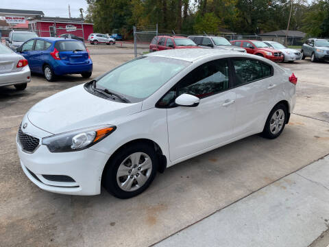 2016 Kia Forte for sale at Baton Rouge Auto Sales in Baton Rouge LA
