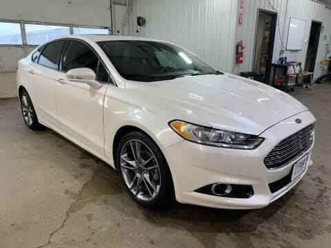 2013 Ford Fusion for sale at Premier Auto in Sioux Falls SD