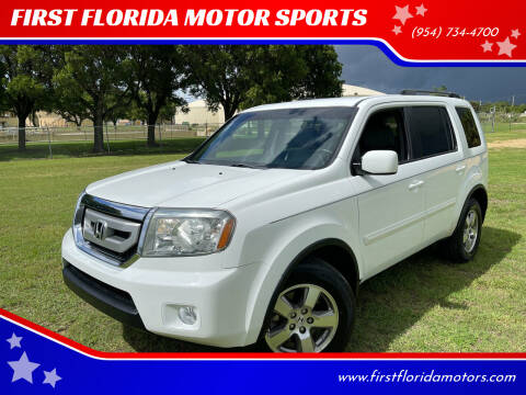 2011 Honda Pilot for sale at FIRST FLORIDA MOTOR SPORTS in Pompano Beach FL