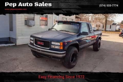 1995 GMC Sierra 1500 for sale at Pep Auto Sales in Goshen IN