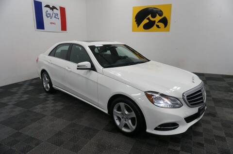 2015 Mercedes-Benz E-Class for sale at Carousel Auto Group in Iowa City IA