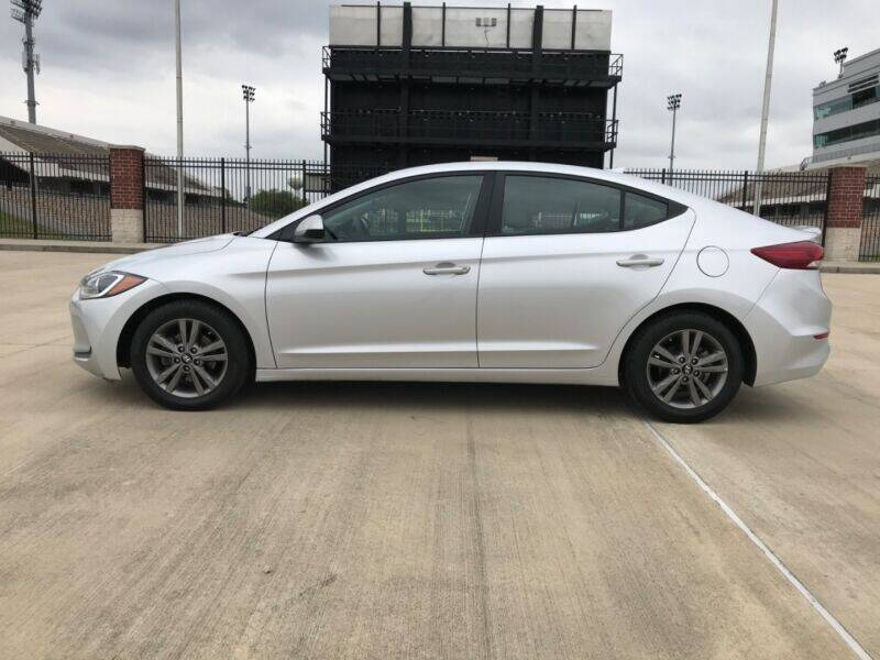 2018 Hyundai Elantra for sale at ALL AMERICAN FINANCE AND AUTO in Houston TX