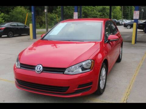 2017 Volkswagen Golf for sale at Inline Auto Sales in Fuquay Varina NC