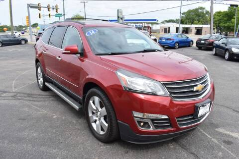 2014 Chevrolet Traverse for sale at World Class Motors in Rockford IL
