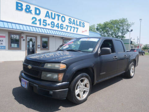 2005 Chevrolet Colorado for sale at B & D Auto Sales Inc. in Fairless Hills PA
